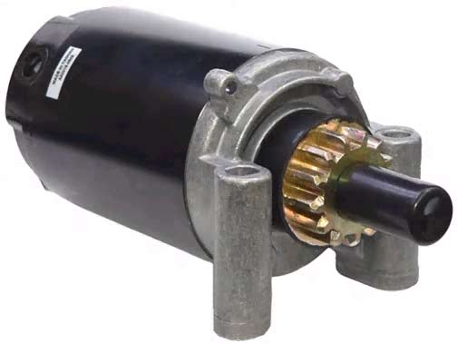 kohler starter motors ch11 ch15 and cv14 cv15 ch410 ch450 cv460 command series engines 13 tooth gear starter post on end cap