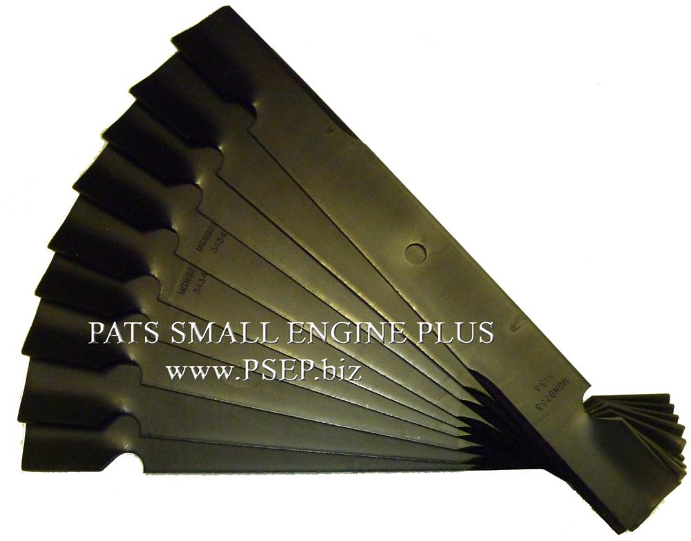 Excel Hustler Mower Blades