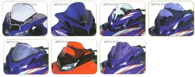 Yamaha sportech windshields for Yamaha sx viper windshield