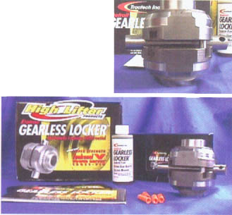 Honda atv gearless locker
