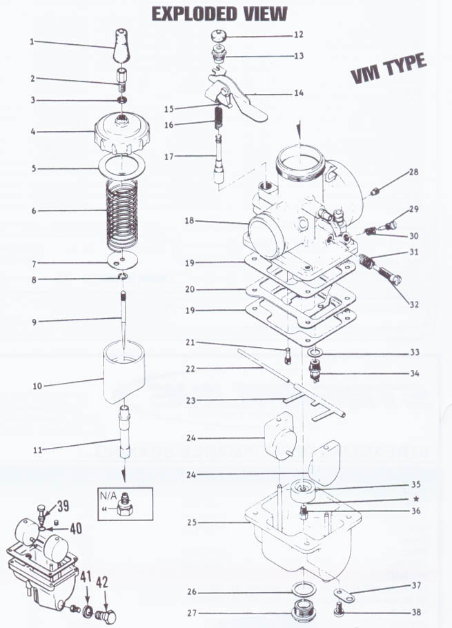 Mikuni VM Parts   Mikuni VM Carb Parts   PSEP biz