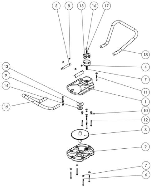 Jiffy 2 Cycle Models with Jiffy Engines Ice Auger Parts