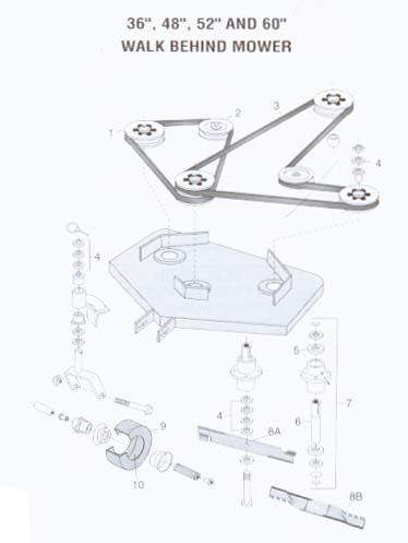 Bobcat Lawn Mower Belt Diagram Electrical Drawing Wiring Diagram